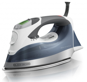 Black+Decker Digital-professional steaming Iron
