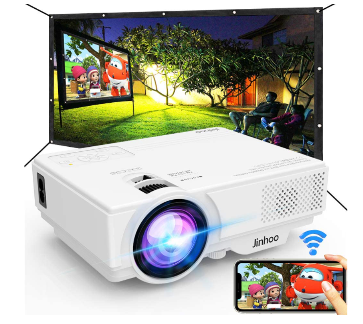 Jinhoo M8-TPA- wireless projector reviews