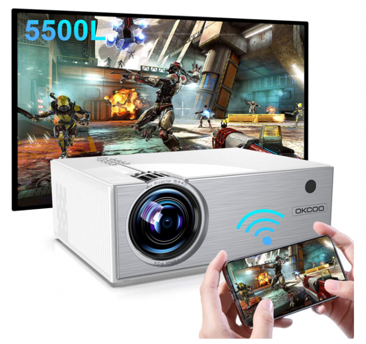 OKCOO- best mini projector under 100